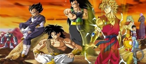 El Rey y Los Saiyajin del Universo 6 (Equipo de Champa) Dragon Ball Super