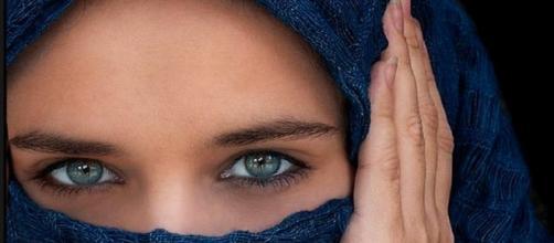 Immagine di una sposa egiziana