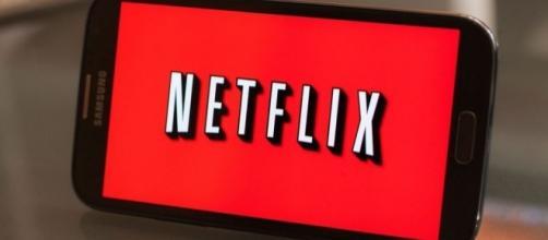 Netflix visto da un dispositivo mobile