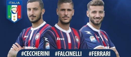 Tre talenti del Crotone in Nazionale Italia - Foto: FcCrotone.It