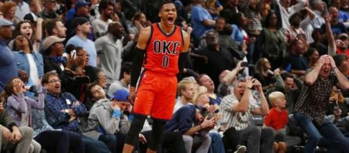 Westbrook sets triple-double record, Thunder beat Nuggets - The ... - theintelligencer.com