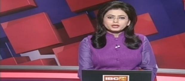 A jornalista anunciou em direto a morte do seu marido