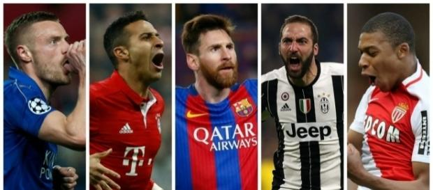 Champions League quarter-finals (photo via eurosport.com)