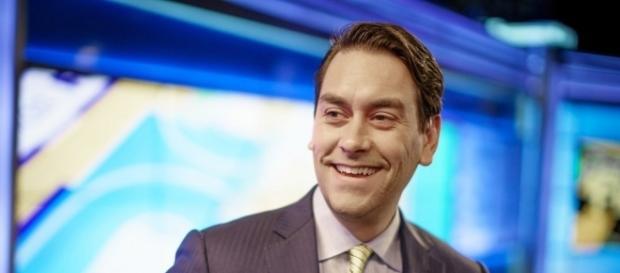 "Clayton Morris has fun on ""Fox and Friends Weekend"" set. Photo: Blasting News Library - claytonmorris.com"