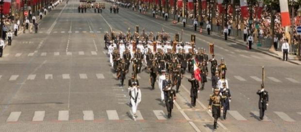 El H. Colegio Militar en Paris, 2015