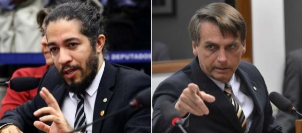 Jean Wyllys diz que cuspiria novamente em Bolsonaro