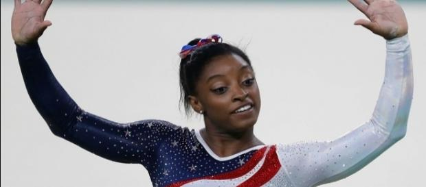 Olympian Simone Biles will dance to Chris Tomlin's 'Good Good Father' on 'Dancing with the Stars' 2017. Agência Brasil Fotografias/Wikimedia