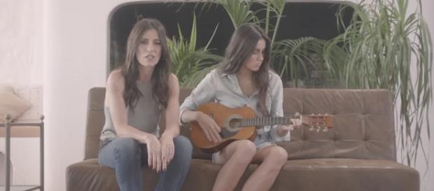 """Paola Turci e la nipote nel videoclip di """"La vita che ho deciso"""""""