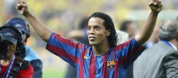 Ronaldinho es una leyenda del barcelonismo. Foto: archivo EFE