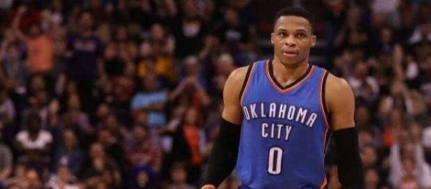 Russell Westbrook secures triple-double average, falls short of ... - chron.com