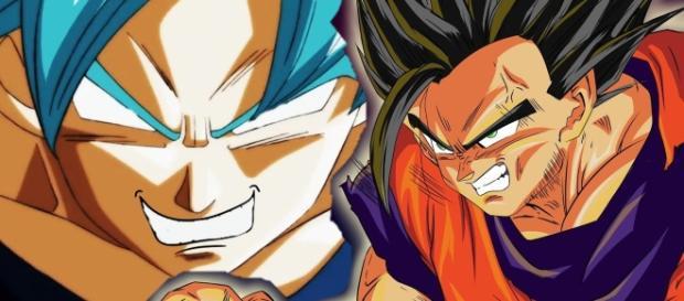 Son Gokú y su hijo son realmente poderosos