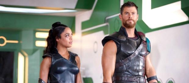 Thor antes de entrar a la arena a pelear
