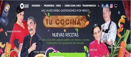 """Tomada de Canal 11. Programa """"Tu cocina"""""""