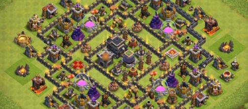 10+ Best COC TH9 Farming Bases Anti Everything 2017 | Bomb Tower ... - cocbases.com