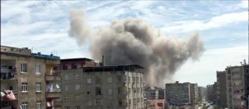 Forte esplosione in Turchia, a Diyarbakir