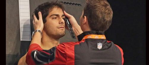 Jimmy Garoppolo/ Photo via nifty26, flickr