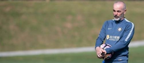 L'allenatore dell'Inter Stefano Pioli
