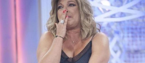 """Terelu, hundida, llora en directo por su madre: """"No se merece esto"""" - elespanol.com"""