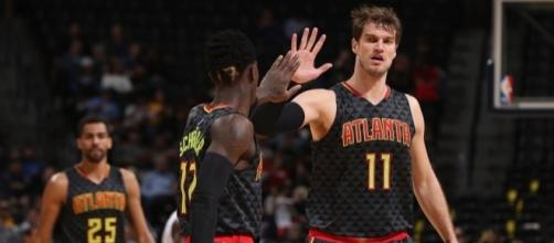 The Atlanta Hawks will try to secure their playoff seed in Tuesday's game. [Image via Blasting News image library/inquisitr.com]