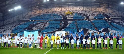 Tito historique réalisé par les groupes de supporters lors de la réception du PSG en 2015