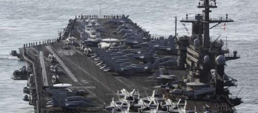 U.S. Navy sends strike group toward Korean peninsula - SFGate - sfgate.com