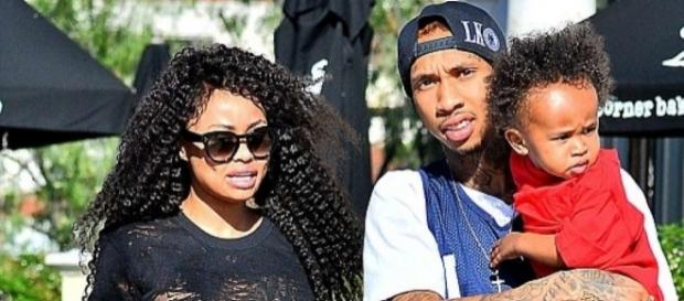 A new report claims Tyga and Blac Chyna already had a finance agreement. (via Blasting News library)
