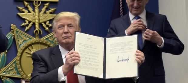 At Pentagon, Trump Declares His Aim Of 'Reconstructing' The Military ... - npr.org