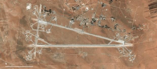 Base aérea de Al Shyrat na Síria