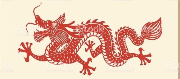 Chinese Zodiac Sign For Year Of Dragon stock vector art 165768204 ... - istockphoto.com