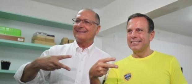 Doria e Alckmin querem dobradinha em 2018