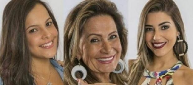 Enquete mostra quem entre Emilly, Ieda e Vivian vencerá o Big Brother Brasil 17 (Foto: Divulgação)
