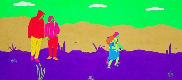 la ilustración y la animación tienen ese mágico poder de transformar la realidad para crear metáforas y mundos imaginarios