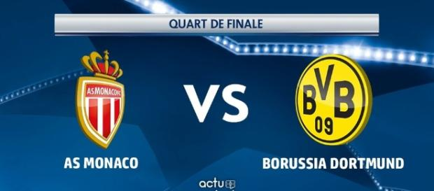 le choc des quart de final : Monaco vs Dortmund