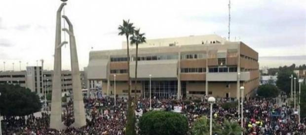 Marchan en Mexicali contra el gasolinazo | El Diario - diario.mx