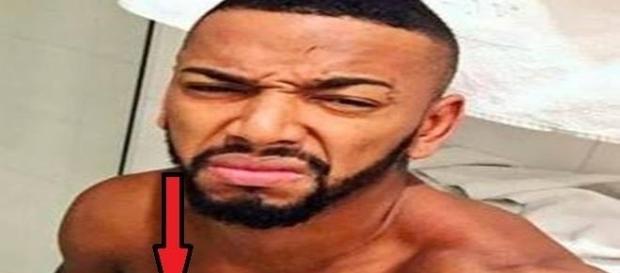 Nego do Borel vazou foto em que ele aparece pelado em seu Instagram