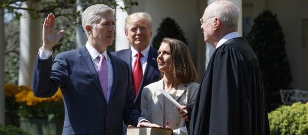 Neil Gorsuch Sworn In as Supreme Court Justice - NBC News - nbcnews.com