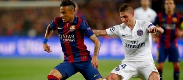 Neymar and Marco Verratti Photos Photos - FC Barcelona v Paris ... - zimbio.com