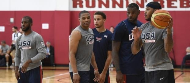 Once teammates on Team USA Curry's rise to stardom has fractured these players' relationships - zimbio.com