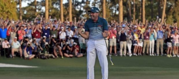 Sergio García ganador del Masters de Augusta 2017 Photo: Sam Greenwood/Augusta National