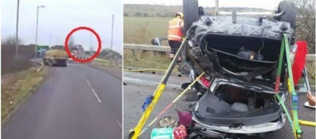 Tania Chikwature causou um acidente impressionante