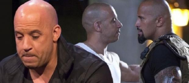 Vin Diesel esclarece briga com Dwayne Johnson (Foto: Reprodução)