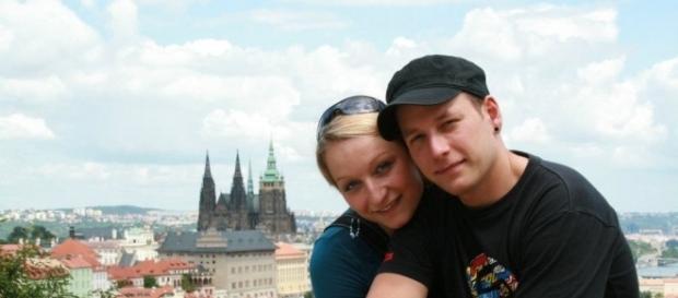 Zdeněk Makar with sister Adela Credit: Adela Makarova