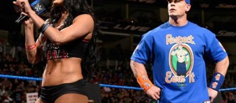 WWE News: John Cena And Nikki Bella Vs. Miz And Maryse Is On At ... - inquisitr.com