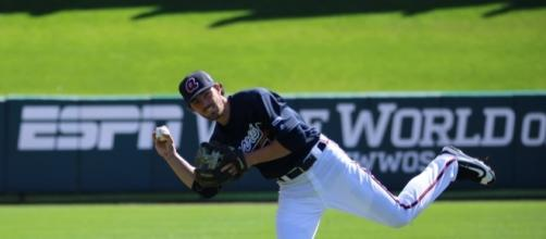 Braves shortstop Dansby Swanson has stumbled out of the gate with a .156 batting average. Photo: Wikemedia