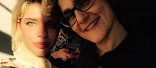 Bruna Linzmeyer e a cineasta Kity Féo, sua namorada