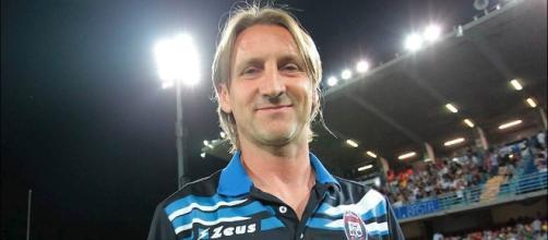 Davide Nicola tecnico dell'F.C. Crotone.