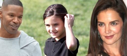 Is Suri Cruise still not ready to replace her dad, Tom Cruise, with her mom's new beau? (via Blasting News library)