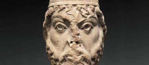 Limestone carving of King David's head FAIR USE metropolitanmuseum.org Creative Commons