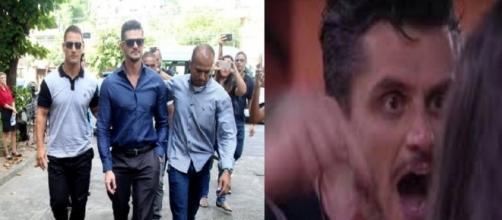 Marcos foi parar na Delegacia após ser expulso