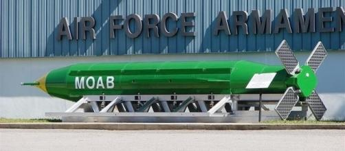 The Mother Of All Bombs (MOAB) is ready to be deployed - digitaljournal.com